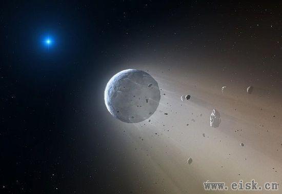 """真实""""死星""""现身:一颗微行星被白矮星所""""蒸发"""""""