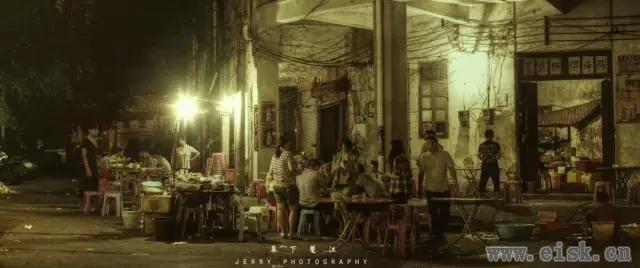 阳江河堤,当地最古老最地道的美食风味