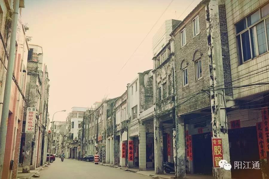 阳江情怀丨龙津路,一个有故事的美食天堂