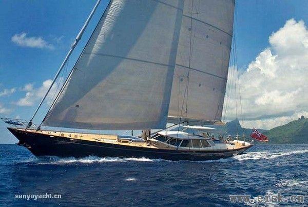 焕然一新的41米帆船Inmocean