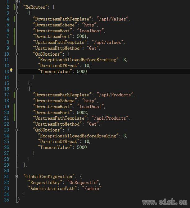 Ocelot --API网关简单使用