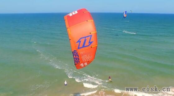 DJI 品牌故事 - 与精灵3一起风筝冲浪