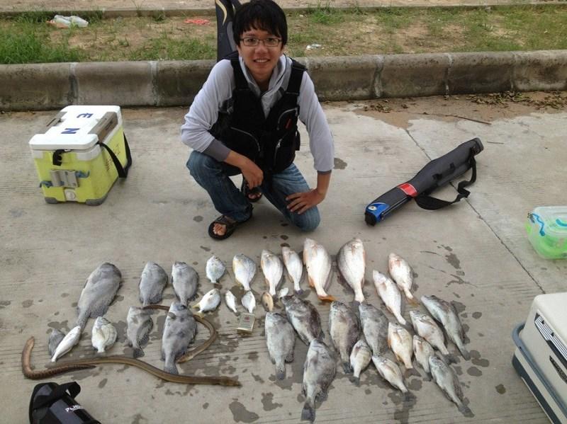 [SM]2013年闸坡鱼排筏钓汇总