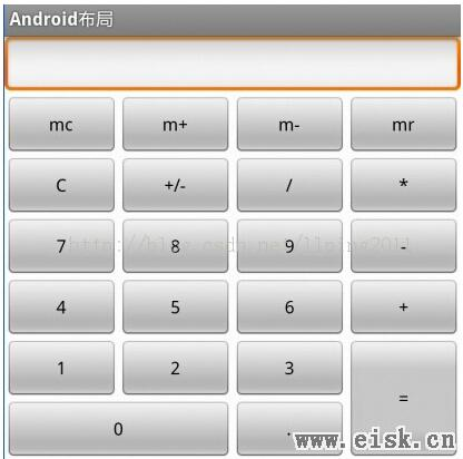 Android系统五大布局详解Layout