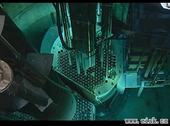 实拍阿尔伯克基核反应堆启动