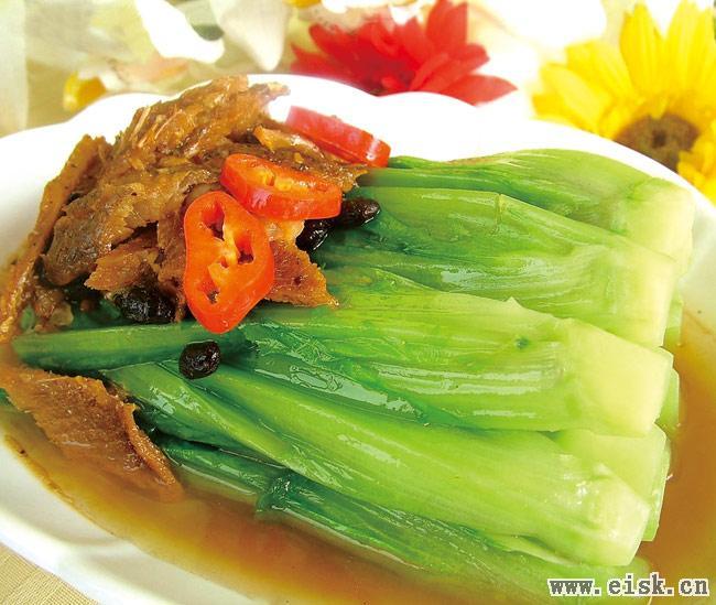阳江美食-八甲麦菜