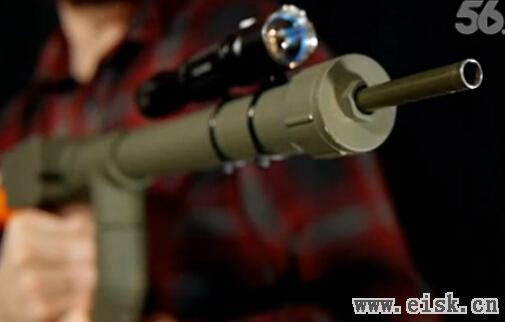 简易DIY:只花5美元打造一把BB枪