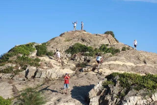 探险式旅行~海陵岛三山岛露营游记