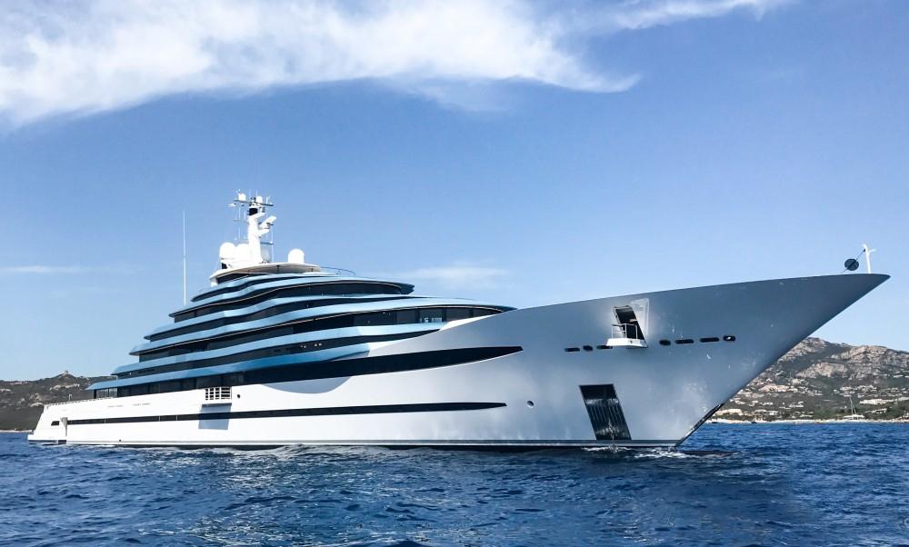 Oceanco全新110米Jubilee游艇和她背后的故事