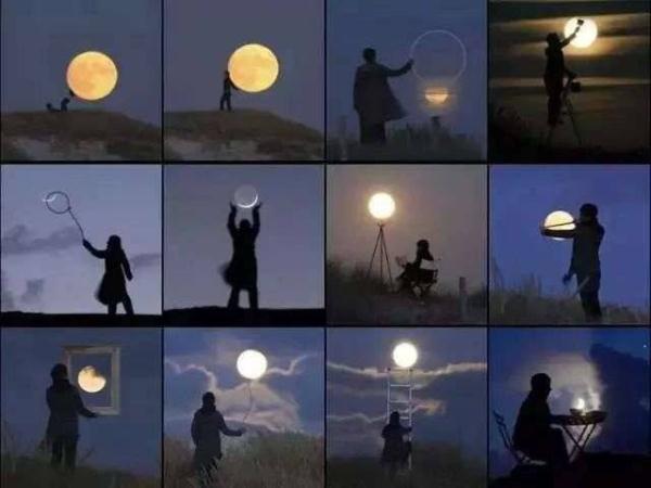 """""""超级月亮""""再现 专家: 疫情期间可在家""""追""""月"""