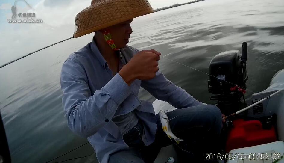第一次港口船钓,遇精口鱼十分无奈